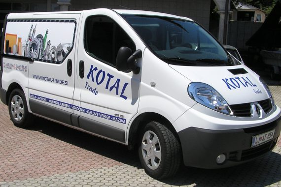 Kotal Trade dostava